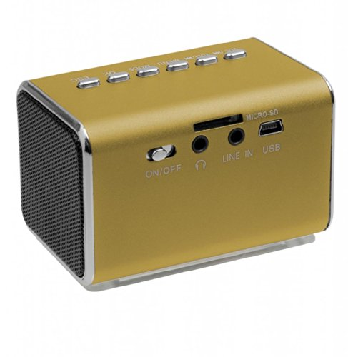 Jumbl Mini Hidden Spy Camera Radio Clock w/Infrared Night Vision - Orange