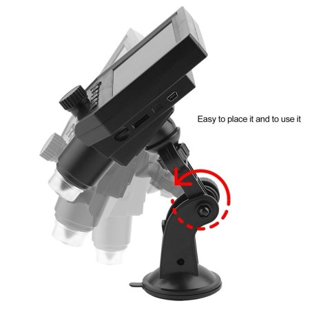 G600 Lcd - cnmodle 4.3inch HD OLED 3.6MP LCD 1080P Magnifier Amplifier Digital Microscope G600