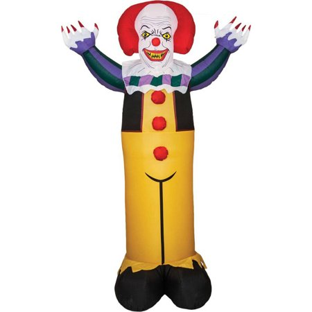 IT Pennywise 7' Airblown, Halloween Accessory](Halloween Inflatables On Clearance)