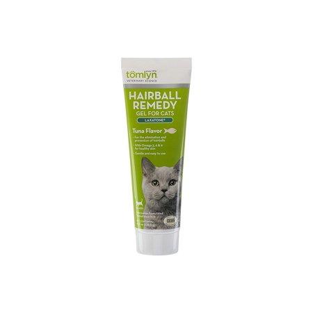 Hairball Paw Gel (Laxatone Hairball Remedy Gel for Cats TOMLYN - 4.25oz - Tuna)