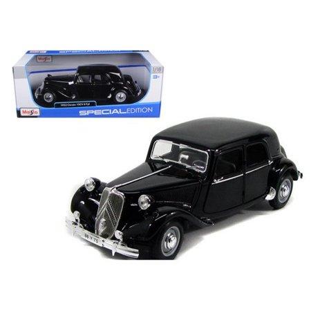 1952 Citroen 15CV 6CYL Black 1/18 Diecast Model Car by -