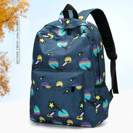 Cheeseburger Backpack Steven Universe (Women's Fashion Backpacks Universe Print Bookbags Female Travel)