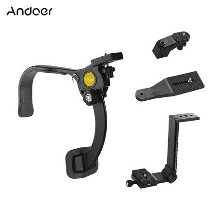 Andoer Q440A Hand Free Shoulder Rig Stabilizer Shoulder Support Bracket Movie Film Making System 1/4 Inch Screw Mounts for DSLR Camera Action Camera DV Max. Load 8kg
