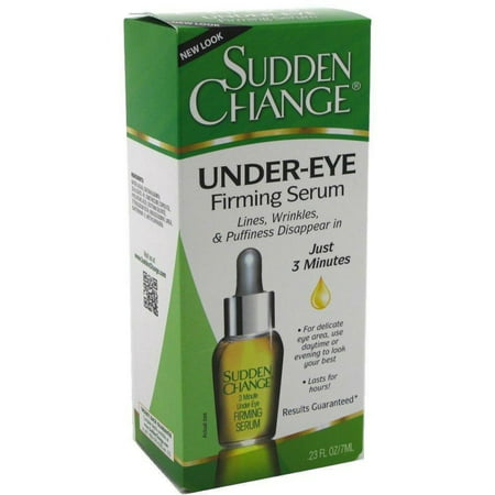 Sudden Change Under-Eye Firming Serum 0.23 oz (Best Product For Under Eye Lines)