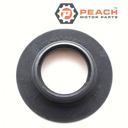 Peach Motor Parts PM-6E5-45344-00-00  PM-6E5-45344-00-00 Cover, Oil Seal Lower Unit Gearcase Drive Shaft; Replaces Yamaha®: 6E5-45344-00-00, SEI®: 96-416-10 (05 Pump Shaft Seal)