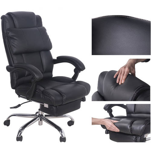 Merax High-Back Deluxe Leather Office/Technical Executive Office Rest and Napping Chair Recliner - Walmart.com  sc 1 st  Walmart & Merax High-Back Deluxe Leather Office/Technical Executive Office ... islam-shia.org