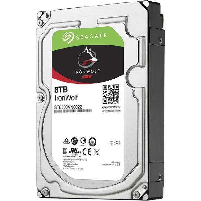 Seagate ST8000VN0022 8Tb Sata 3.5In 7200Rpm 256 Cache Nas HDD