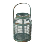 Sterling Industries 129-1041 Glass and Metal Mesh Hurricane