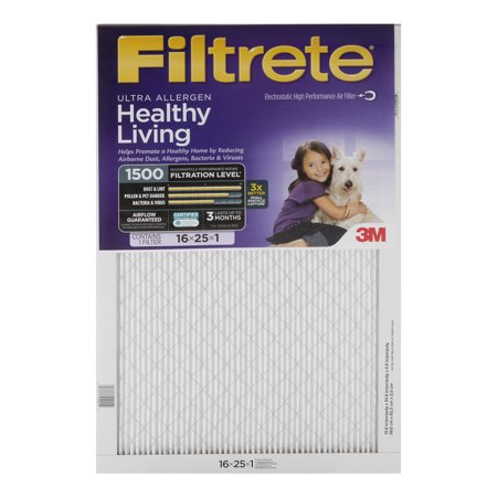 Filtrete Air Filter Ultra Allergen Healthy Living, 1.0 CT