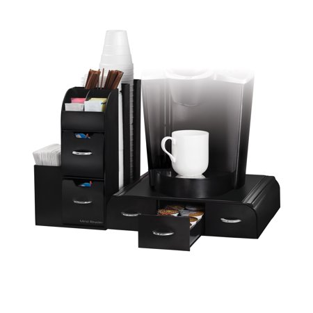 Mind Reader 2 Piece K Cup Single Serve Coffee Pod Drawer And Condiment Organizer