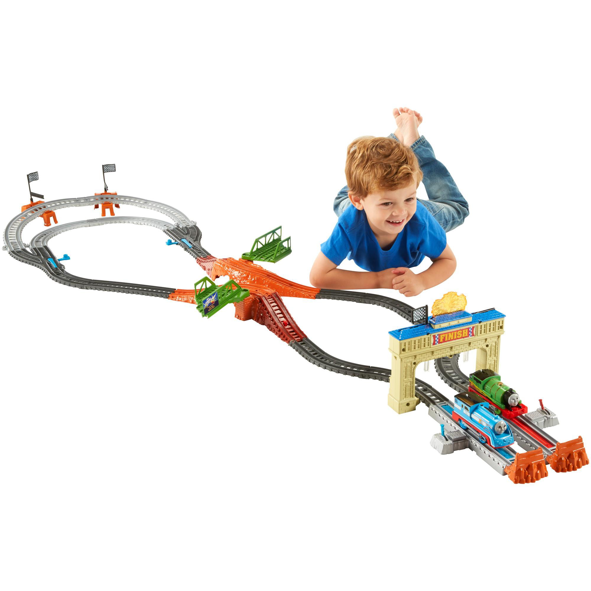 Fisher Price Thomas & Friends Trackmaster Thomas and Percy Railway by FISHER PRICE