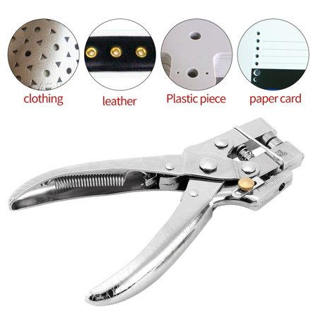 100pcs Easy Press Hollow Grommets and Rivet Setter Punch Pliers Belt Holes Eyelet Setting Tool