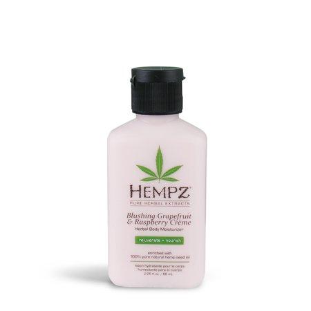 Hempz Blushing Grapefruit & Raspberry Creme Herbal Body Mini Moisturizer