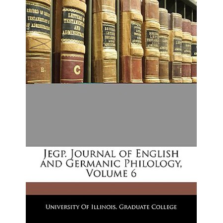 Journal of English and Germanic Philology (JEGP) - Home ...