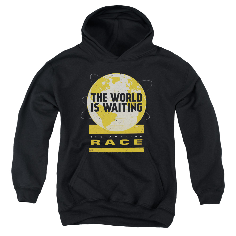 The Amazing Race Waiting World Big Boys Pullover Hoodie