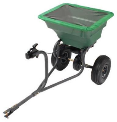 75 LB Capacity; Tow Behind Broadcast Spreader