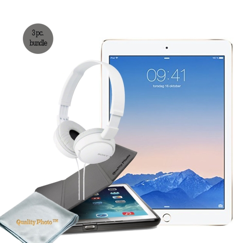 "Apple iPad Pro 12.9 Inch WiFi 32GB  -- With Basic Bundle, - iPad pro 12.9 ""Smart Case"" - ""Stereo Headphone"""