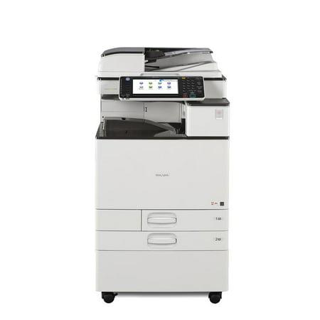 Refurbished Ricoh Aficio MP C3003 A3 Color Laser Multifunction Copier - 30ppm, Copy, Print, Scan, Auto Duplex, Network, 1200 x 1200 dpi, A3/A4, 2 Trays, Stand