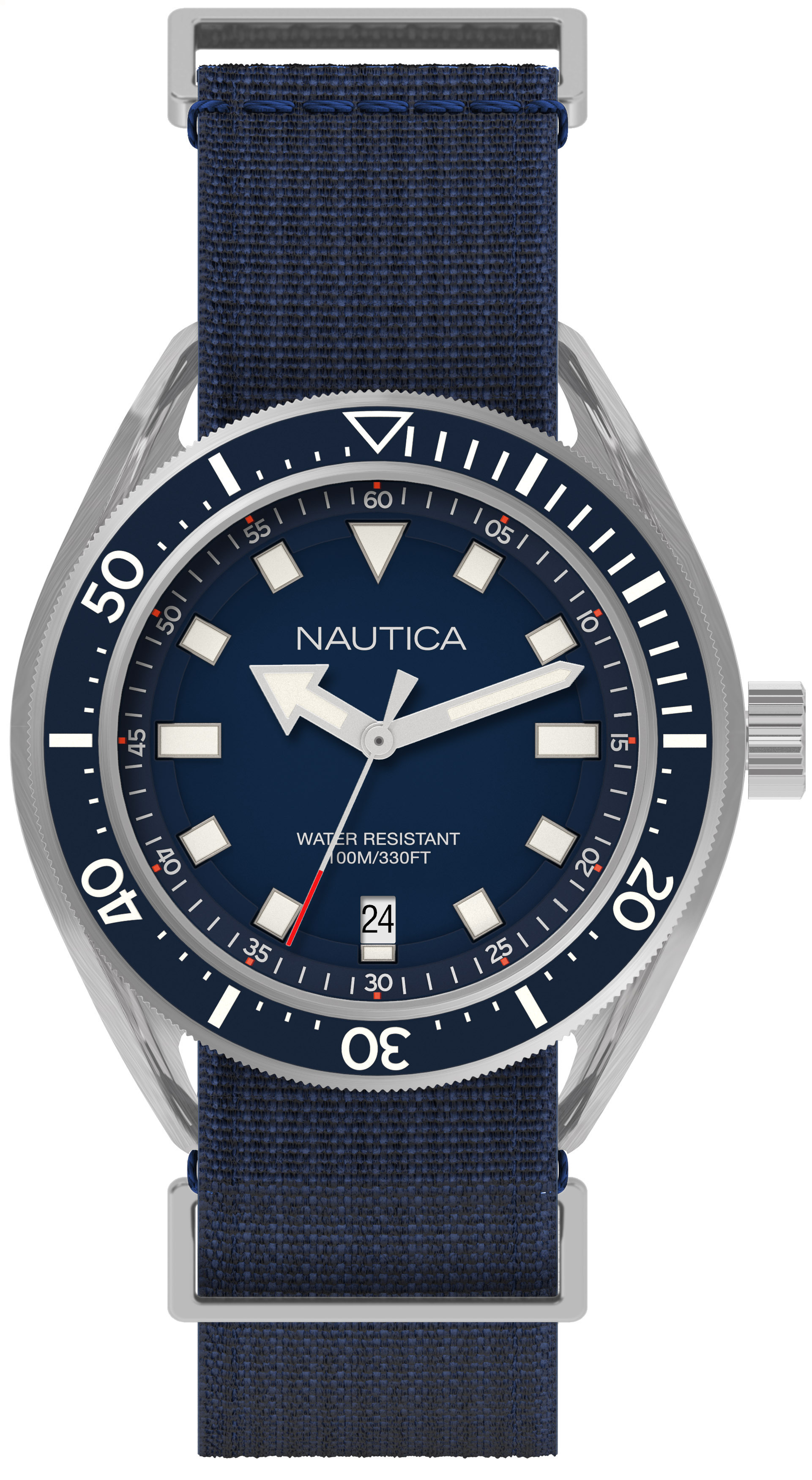 NAUTICA MEN'S WATCH PORTOFINO 45MM by Nautica