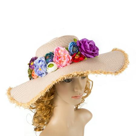 Wite Women Hat Kentucky Derby Hat Summer Hat Church Hat Wedding Hat Bridal Hat
