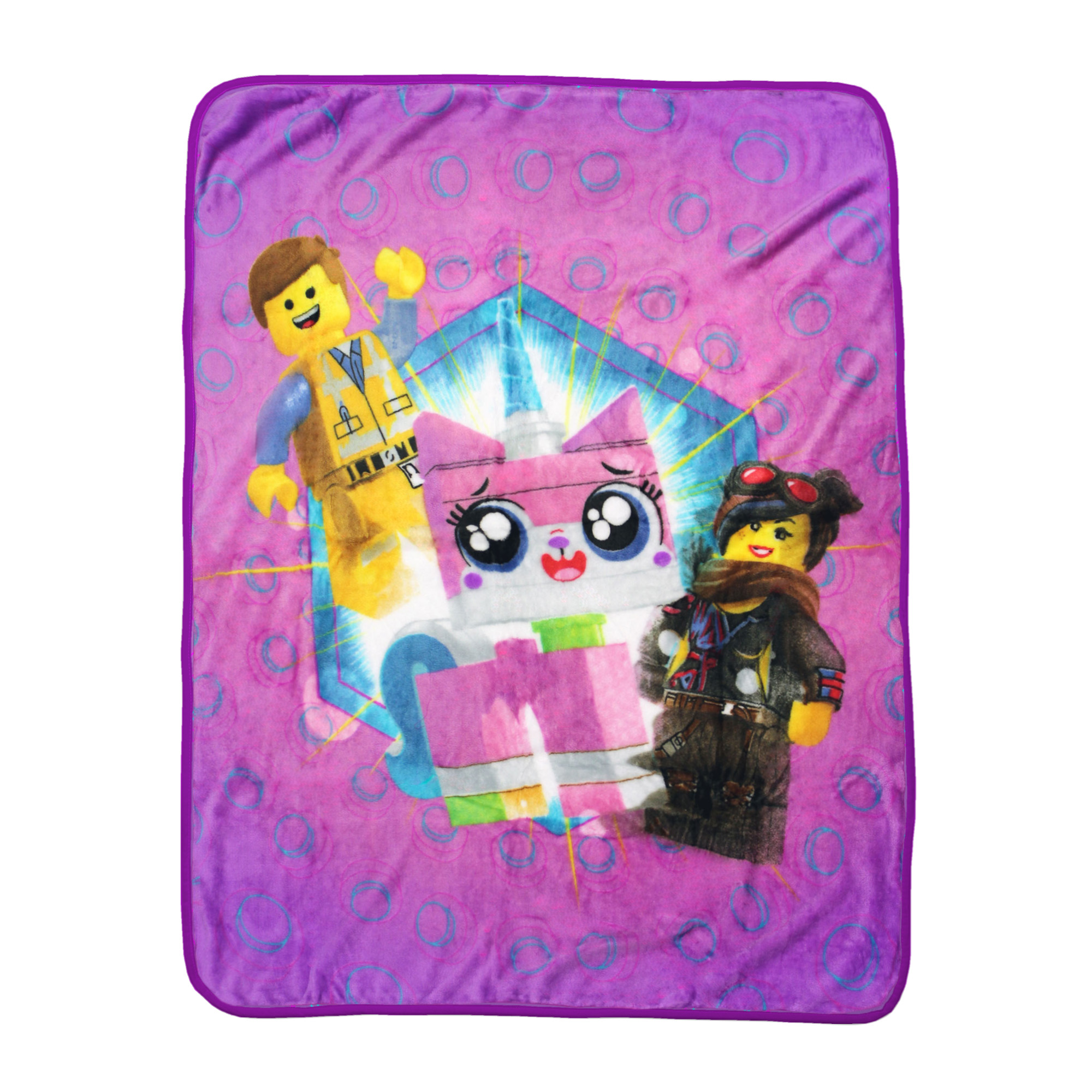 Lego Movie 2 Kitty Mania Throw, 1 Each