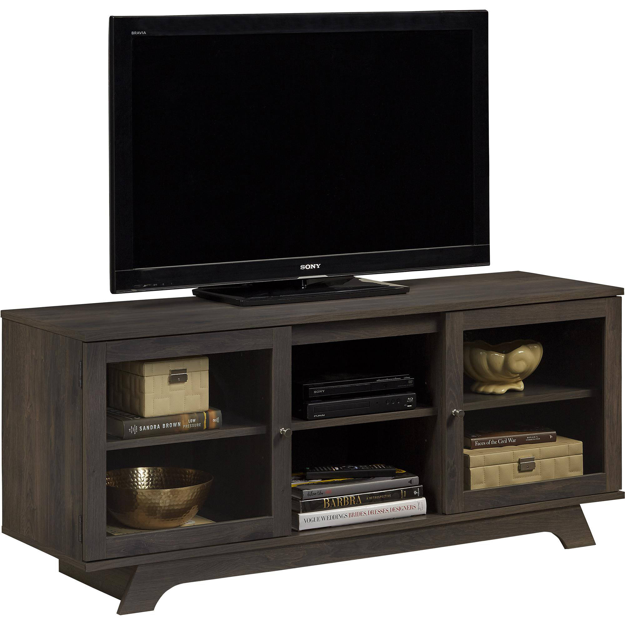 Tv Stand 55 Inch Flat Screen Home Furniture Entertainment Media