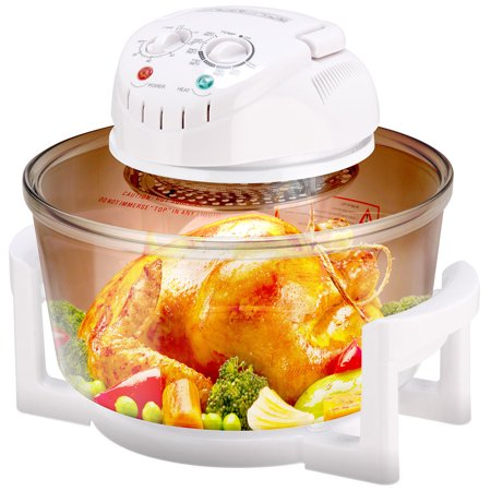 GHP 120V 12L-17L Capacity Energy-Saving Thermostat Timer Turbo Convection Halogen Oven