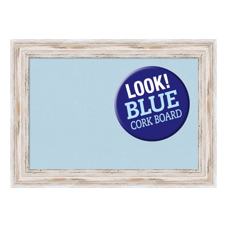 "Amanti Art DSWALCB2216 Alexandria 22"" X 16"" Framed Cork Board"