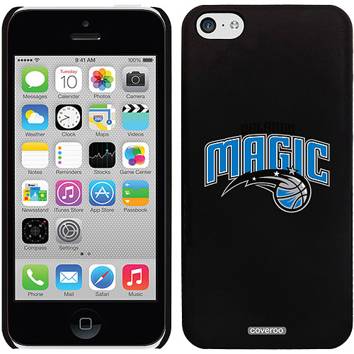 Orlando Magic Logo Design on iPhone 5c Thinshield Snap-On Case by Coveroo