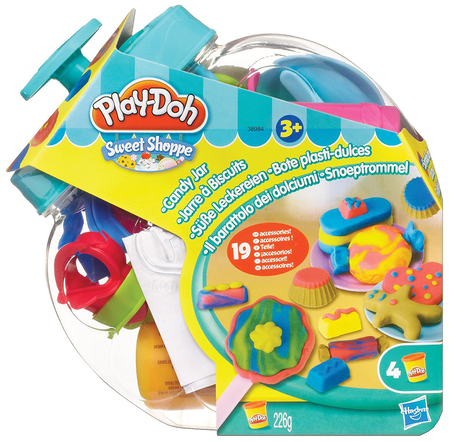 Play Doh Candy Jar, 20.175 By Hasbro