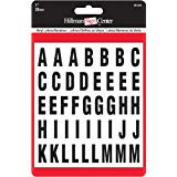 1-Inch Die-Cut Letters and, Numbers Kit, Black ()