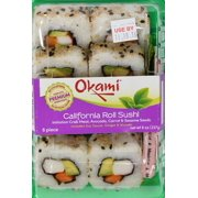 Okami California Roll Sushi 8pc, 8oz