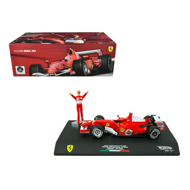 Michael Schumacher Ferrari F1 2006 Monza Gp Italy 248 1 18 Diecast