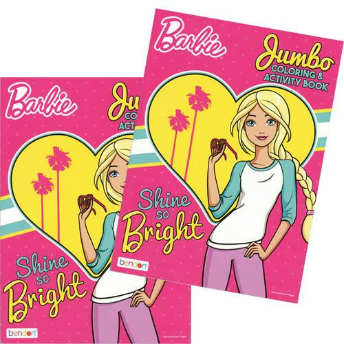 Barbie 96 pg Jumbo Coloring & Activity Book-1PC (Barbie Halloween Coloring Sheets)