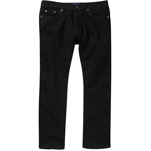 Blu Denim Men's Black Wash Jeans