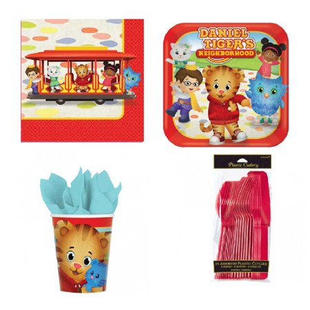 Daniel Tiger Neighborhood Snack Cake Pack For 8 Guests