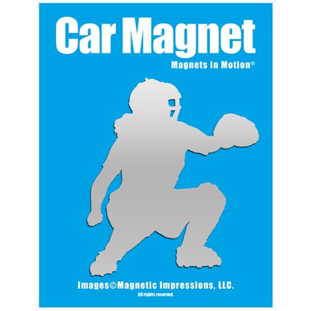 Softball Catcher Car Magnet (Softball Magnets For Cars)
