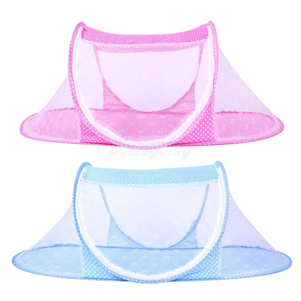 Baby Mosquito Net Crib Bed, Portable Folding Baby Mosquito Bed Net Infant