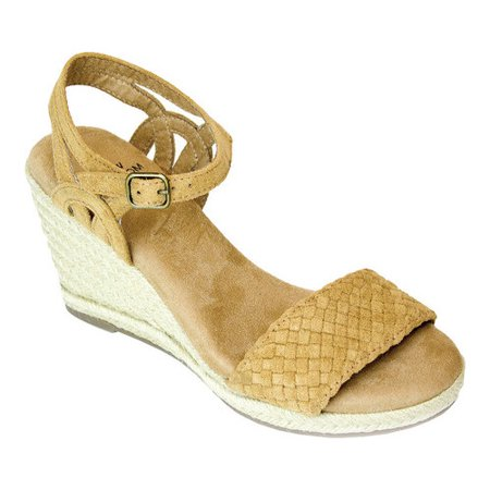 b359869094d Women's White Mountain Crable Espadrille Wedge Sandal