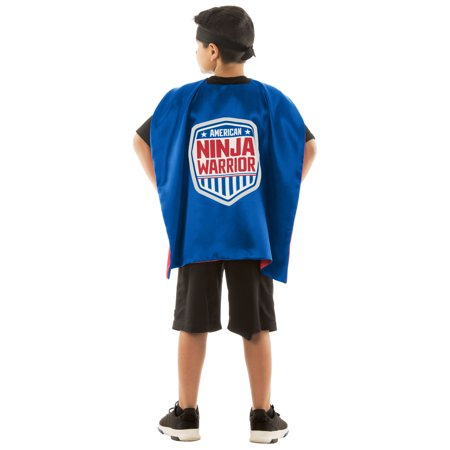 American Ninja Warrior Reversible Cape - Girl Ninja Warrior