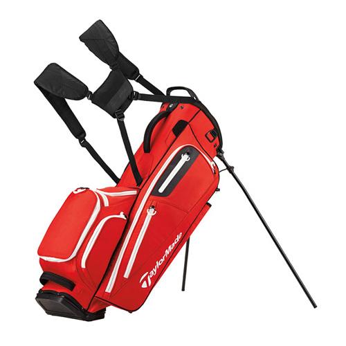 TaylorMade FlexTech Golf Stand Bag, White/Blue/Black