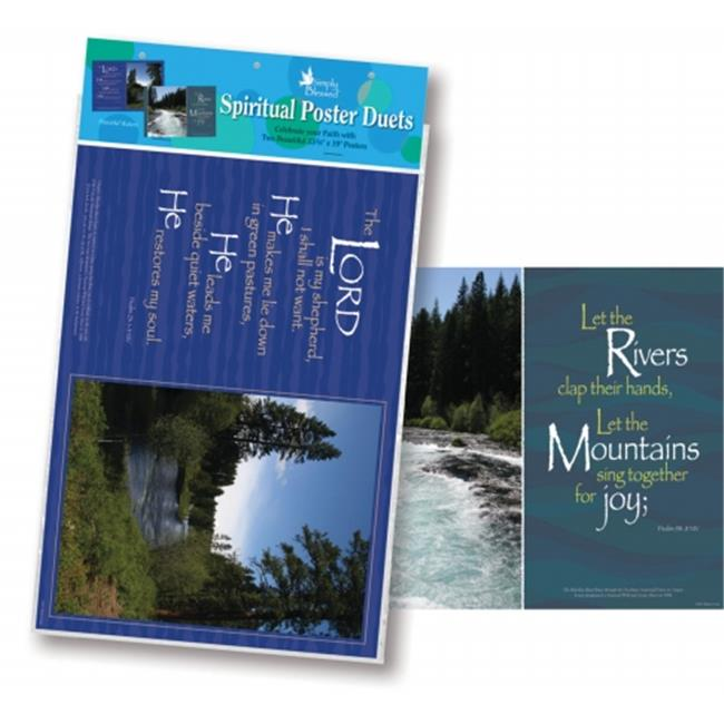 Barker Creek BC-1896 Poster Duets - Peaceful Waters