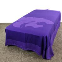 """Kansas State Wildcats Duvet Cover / Summer Blanket, 2 Sided Reversible, 100% Cotton, 80"""" x 90"""", Full"""