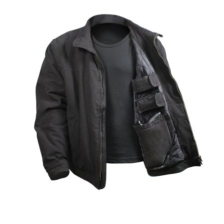 3 Season Concealed Carry Jacket, Black, Large