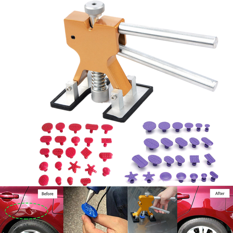 Automotive Car Auto Paintless Dent Repair Tool Puller Hail Removal Glue Pulling Tabs BD Dent Repair Kits & Tools