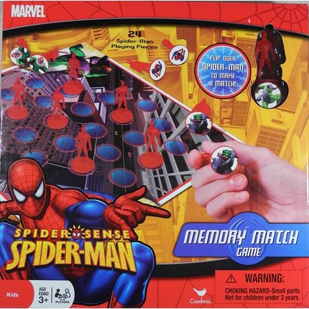 Marvel Spider-Sense Spider-Man Memory Match Game](Avengers Cards)