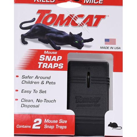 Tomcat Mouse Snap Trap 2ct - Mouse Trap Boats