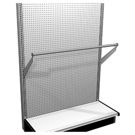 Lozier Store Fixtures TVHANGRODUP414 48 x 14 in. Upsloped Hang Rod ()