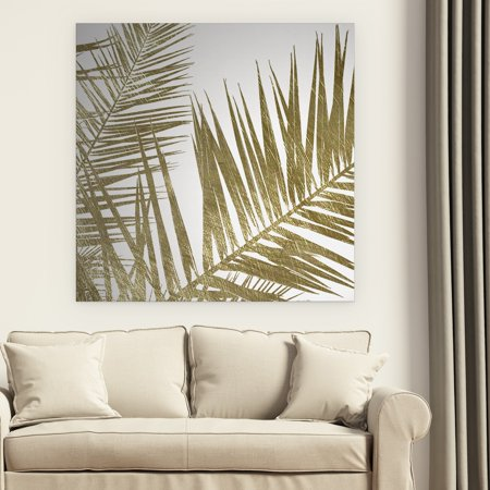 Wexford Home 'Golden Frond I' Premium Gallery Wrapped Canvas 24x24