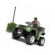 Realtree 1:14 Remote Control ATV & Hunter ()